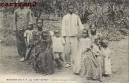MISSION DES P.P. DU SAINT ESPRIT JEUNES MENAGES CHRETIENS TRIBU ETHNOLOGIE TYPE AFRIQUE - Missions