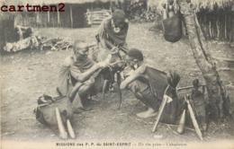 MISSION DES P.P. DU SAINT ESPRIT UN RITE PAIEN L'ABSOLUTION TRIBU ETHNOLOGIE TYPE AFRIQUE - Missions