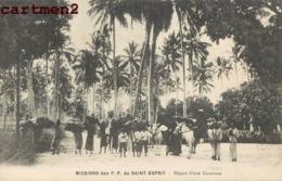 MISSION DES P.P. DU SAINT ESPRIT DEPART D'UNE CARAVANE SCENE AFRIQUE - Missions