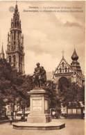 ANTWERPEN - Hoofdkerk En Rubens Standbeeld - Antwerpen