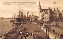 ANTWERPEN - Scheldezicht (Vlotbrug Aan Het Steen) - Antwerpen