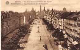 ANTWERPEN - Vogelvluchtzicht Der De Keyserlei - Antwerpen
