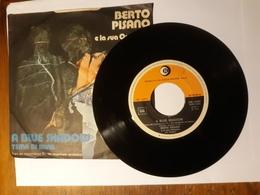 Berto Pisano  -   Dischi Ricordi    Anno 1974.  A Blue Shadow - Filmmusik