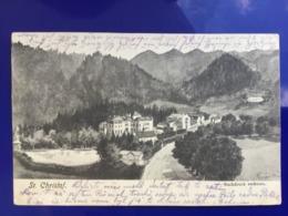 AK ST. CHRISTOF Prigglitz B. Gloggnitz 1915 /////  D*39947 - Semmering