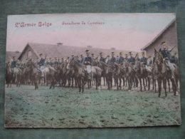 ARMÉE BELGE - ESCADRON DE LANCIERS 1914 - Autres