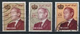 °°° MAROC - Y&T N°1021/23 - 1987 °°° - Marruecos (1956-...)