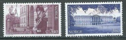 Norvège YT N°1252/1253 Palais Royal D'Oslo Oblitéré ° - Norvège