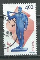 Norvège YT N°1269 Confédération Norvégienne Des Syndicats Oblitéré ° - Norvège