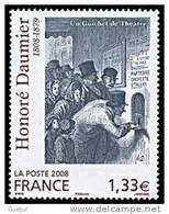 """France N° 4305 ** Peinture Par Honoré Daumier """"Un Guichet De Théâtre"""" - Nuevos"""