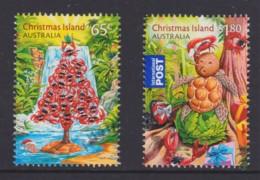 Christmas Island 2015 Christmas Set Of 2 CTO - Christmas Island