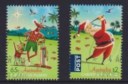 Christmas Island 2017 Christmas Set Of 2 CTO - Christmas Island