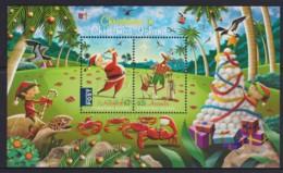 Christmas Island 2017 Christmas Minisheet CTO - Christmas Island