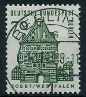 BERLIN DS D-BAUW. 1 Nr 248 Zentrisch Gestempelt X92033E - Usados