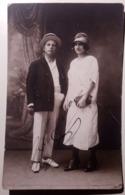 Fotografia - Ritratto Di Coppia - Moda - 1910-'20 - Cartoline