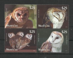 Niuafo, 2012. [n1220] Birds, Owls - Owls