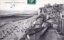 80 - Ault Onival -  L Esplanade Vers Cayeux - Ault