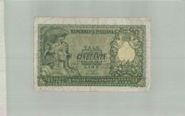 Billet De Banque   REPUBBLICA ITALIANA  50 LIRE 1951  Sept 2019  Alb Bil - Italia – 5 Lire