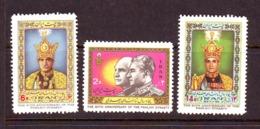 Iran 1976  SC#1907-09  Set MNH - Iran