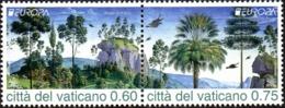 CEPT / Europa 2011 Vatican N° 1557 Et 1558 ** Les Fôrets - 2011