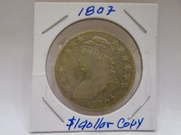 US, One Dollar 1807,Beautiful, Circulate, Brilliant, XF By Its Age, I Do Not Its Authenticity, I Am Not From THERE.XF - Collections