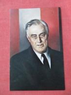 Franklin D Roosevelt  32 Nd President  >ref 3631 - Historical Famous People