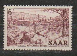 SARRE              N° YVERT   310      NEUF SANS CHARNIERES  ( Nsch  02/04 ) - Neufs