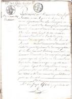 Testament  - Commune De Mazinghien (59) - 16 Mars 1819 - Notaire Au Cateau (59) - Manuscrits