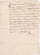 Document Du 25 Avril 1641 - M. Deleutre à Châteaurenard (13) - Parchemin - Manuscrit - Manuscrits