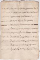 Document Du 9 Avril 1641 - M. Deleutre à Châteaurenard (13) - Parchemin - Manuscrit - Manuscrits