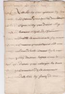 Document Du 6 Avril 1641 - M. Deleutre à Châteaurenard (13) - Parchemin - Manuscrit - Manuscrits