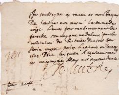 Document Du 5 Mars 1630 - M. Deleutre à Châteaurenard (13) - Parchemin - Manuscrit - Manuscrits