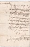 Document Du 15 Novembre 1640 - M. Guillin à Châteaurenard (13) - Parchemin - Manuscrit - Manuscrits