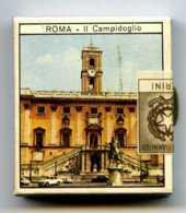 BOITE D'ALLUMETTES ROMA Campidoglio  Et Colosseo - CERINI - Fabbriché  FIAMMIFERI - Scatole Di Fiammiferi