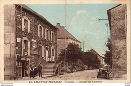 D12  LA SALVETAT PEYRALET Avenue De Carmaux ( Carte Pliée Au Milieu - Station D'Essence )  ............. .  ( REP 1827) - Autres Communes