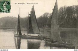 D29  QUIMPER  Bateaux Sur L' Odet  ..... - Quimper