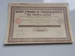 """Française De Champignonnieres """"les Petits Lutins"""" (1947) - Unclassified"""