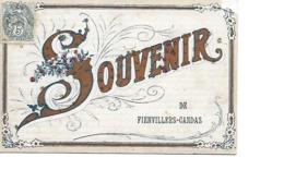 80 FIENVILLERS CANDAS Cpa Souvenir - Francia