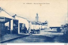 ALGERIE  AUMALE  Rue Des Zouaves  ..... ( Ref FA686 ) - Andere Steden