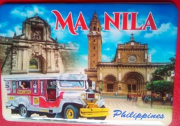Manila   Ft Santiago , Manila Cathedral, Jeepney - Tourism