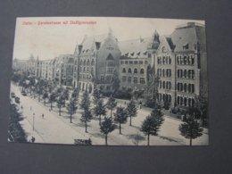 Stettin Gymnasiuem Barnistrasse 1916 Feldpost - Polen