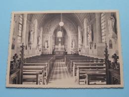 BEFVE Maison De La Sainte Famille / Filles De La Croix > Chapelle ( Thill ) Anno 19?? ( Zie / Voir Photo ) ! - Thimister-Clermont