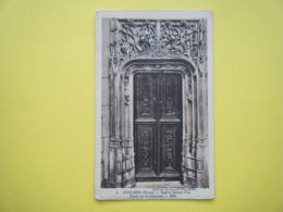 CONCHES EN OUCHE. L'Eglise Sainte Foy. La Porte De La Sacristie. - Conches-en-Ouche
