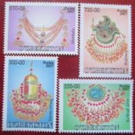 Uzbekistan  2007  Jewellery  4 V  MNH - Uzbekistan