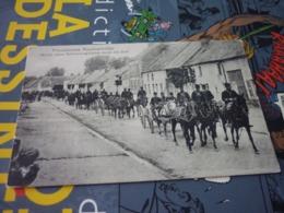 Carte Postale Animée Militaire Maneouvre Artillerie Française  Französiche Manöverbilder - Manovre