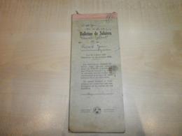 Ancien Carnet De Salaire De 1949  Signé Par A.PETIT Boulanger Brie  R.C.10330 - Invoices & Commercial Documents