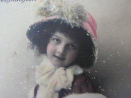 Kind Mit Hut Feldpost 1918 Nach Ulm - Portraits