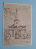 St. MARTINUSKERK & 't TORENTJE Moerzeke ( M.J.D.V. ) Anno 19?? ( Zie / Voir Photo ) 2 Stuks PK ! - Hamme