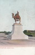 KHARTUM , Sudan , 1900-10s ; Gordon Pasha Statue - Soudan