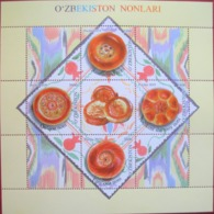 Uzbekistan  2019  Uzbek Bread  Gastronomy  M/S    MNH - Usbekistan
