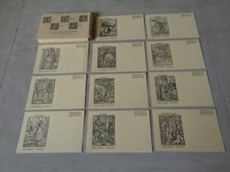 """Beau Lot De 40 Cartes Postales De La """" Danse Du Mort """"  Totentanz ( Hans Holbein )  - Sammlung Basel - Tot  Dood - Cartes Postales"""